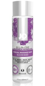System JO Массажный гель ALL-IN-ONE Massage Oil Lavender с ароматом лаванды - 120 мл.